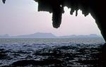 Blick aus der Tham Lawd-Höhle - Phang Nga-Bucht