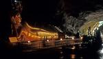 Wat Tham Suwankhuha: Liegender Buddha - Takua Thung