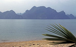 Blick von Monkey Island - Halong Bay