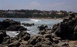 Playa Principal am Pazifischen Ozean - Puerto Escondido