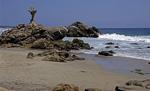 Playa Zicatela am Pazifischen Ozean - Puerto Escondido