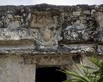 Templo del Dios Descendente (Tempel des herabstürzenden Gottes): Herabstürzender Gott - Tulum