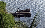 Fischerboote auf dem Lago de Petén Itzá - Flores (GCA)
