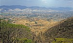 Blick auf Oaxaca - Monte Albán