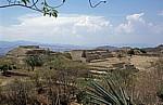 Blick von der Plataforma Sur (Südplattform) - Monte Albán