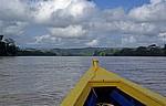Per Boot auf dem Fluß - Rio Usumacinta