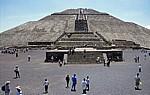 Pirámide del Sol (Sonnenpyramide) - Teotihuacán