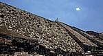 Pirámide del Sol (Sonnenpyramide): Treppe - Teotihuacán