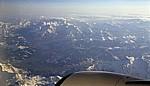 Flug München - Istanbul: Alpen - Österreich