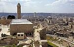 Blick von der Zitadelle auf die Stadt - Aleppo