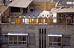 Blick von der Zitadelle auf ein Wohnhaus - Aleppo