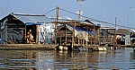 Schwimmende Häuser - Chau Doc