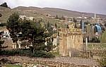 Blick vom Tempel des Bacchus - Baalbek
