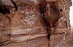Gesteinsschichten - Petra
