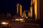 Bogentor (Hadrianstor) am Ende der Großen Kolonnadenstraße - Palmyra