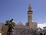 Omayyaden-Moschee: Madhanat al-Gharbiya (Westminarett) - Damaskus