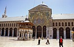 Omayyaden-Moschee: Transept - Damaskus