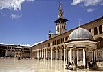 Omayyaden-Moschee: Sahn (Hof) - Damaskus