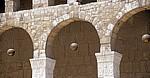 Omayyaden-Moschee: Lampen an den Arkaden - Damaskus