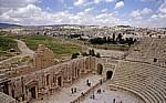 Gerasa: Südliches Theater - Jerash