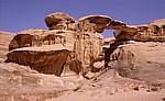 Burdah-Felsbrücke - Wadi Rum