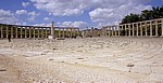 Gerasa: Ovales Forum - Jerash