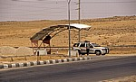 Schattenspendendes Dach für Fahrzeuge - Desert Highway