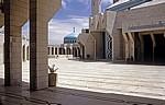 King Abdullah-Moschee: Innenhof - Amman