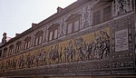 Innere Altstadt: Augustusstraße - Fürstenzug - Dresden