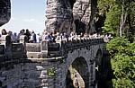 Bastei: Basteibrücke - Sächsische Schweiz