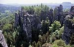 Bastei: Felsformationen - Sächsische Schweiz