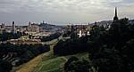 Blick vom Edinburgh Castle auf die Stadt - Edinburgh