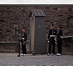 Edinburgh Castle: Wachposten - Edinburgh