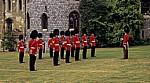 Windsor Castle: Lower Ward - Wachablösung  - Windsor