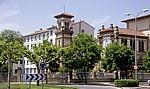 Jakobsweg (Navarrischer Weg): Calle Mayor - Burlada