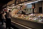 Markthalle: Fischstand  - Pamplona
