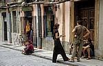 Botellón auf der Calle de Iturralde y Suit - Pamplona