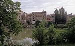 Blick auf die Altstadt - Puente la Reina