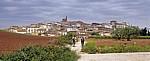 Blick auf den Ort  - Cirauqui