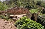 Jakobsweg (Camino Francés): Mittelalterliche Brücke über den Río Salado - Navarra
