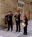 """Fest """"Virgen del Puy"""": Musikanten  - Estella"""