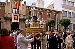 "Fest ""Virgen del Puy"": Monstranz  - Estella"