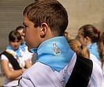 """Fest """"Virgen del Puy"""": Halstuch eines Teilnehmers  - Estella"""