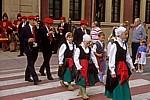 """Fest """"Virgen del Puy"""": Tänzer und Musikanten - Estella"""