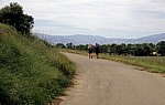 Jakobsweg (Camino Francés): Pilger zwischen Viana und Logroño - Navarra