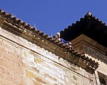Monasterio Santa María la Real: Handwerker auf dem Dach - Nájera