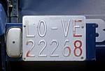 """Kfz-Kennzeichen """"LOVE"""" - Grañón"""
