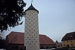 Schloß Hünnefeld: Taubenturm - Bad Essen