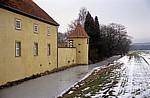 Schloß Hünnefeld: Schloßmauer - Bad Essen