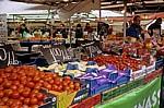 Markt: Gemüsestand - Enschede